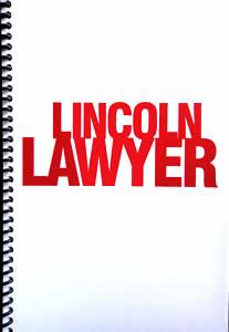 リンカーン・ロイヤー脚本表紙