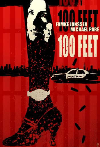 100 FEET new poster by Tim Bradstreet